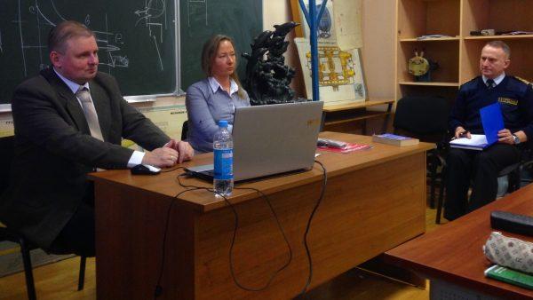 Русмарин прочитал лекцию в Макаровке