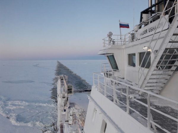 Northern Sea Route in 8.5 Days Unassisted