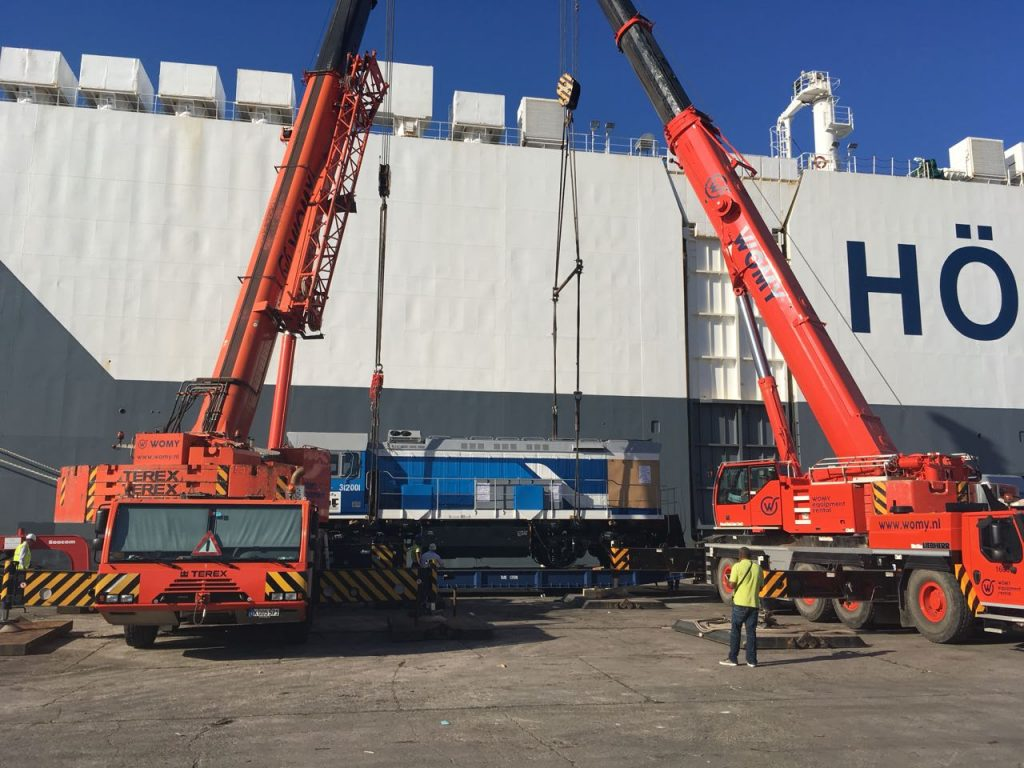 Hoegh Autoliners Carries Russian Locomotives to Cuba | | SeaNews