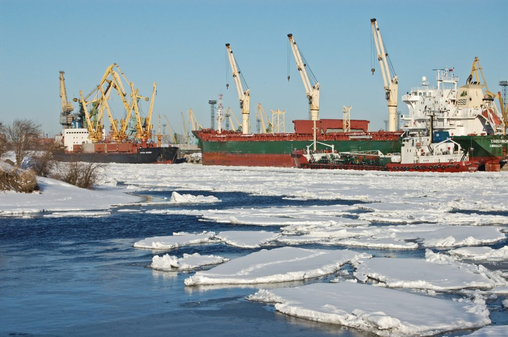 Зима в Большом порту