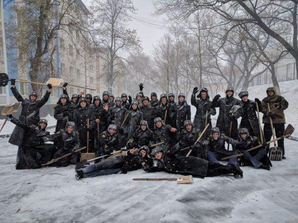 Поздравление МГУ им. адм. Г.И.Невельского