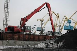 Ледовые ограничения в Высоцке