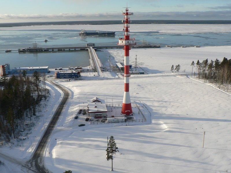 Ледовые ограничения в Приморске