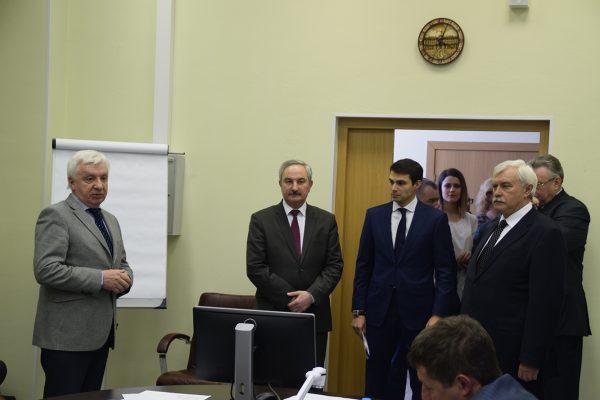 Г.Полтавченко на правлении «Гермеса»