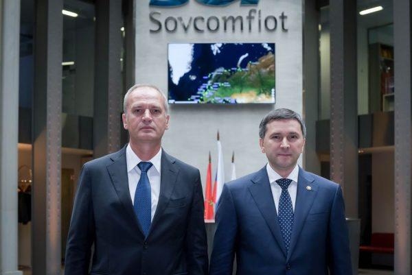 Министр природных ресурсов в Совкомфлоте