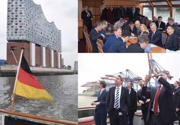 3-й международный форум «Российский День Логистики» в Гамбурге