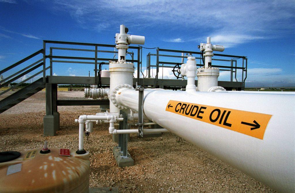 Экспорт нефти снизился
