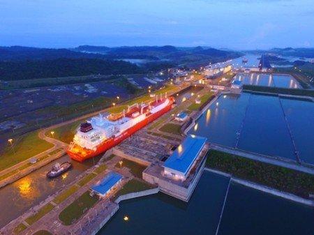 Новый рекорд Панамского канала