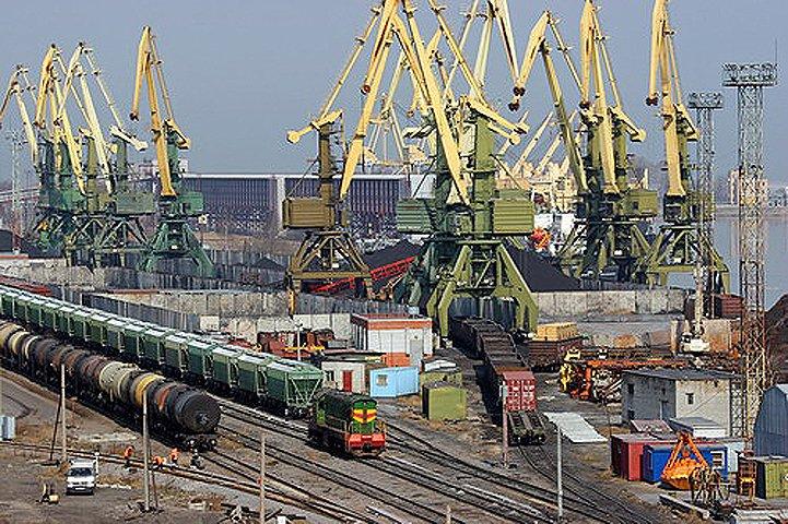 Жд экспорт через порты