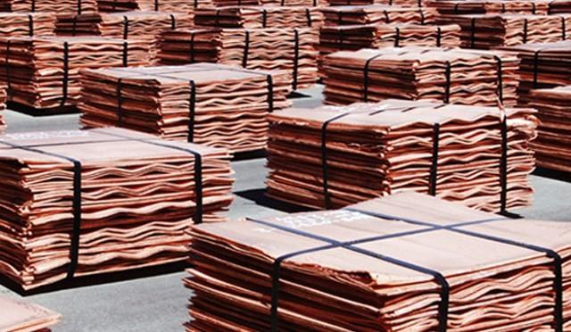 Экспорт цветных металлов