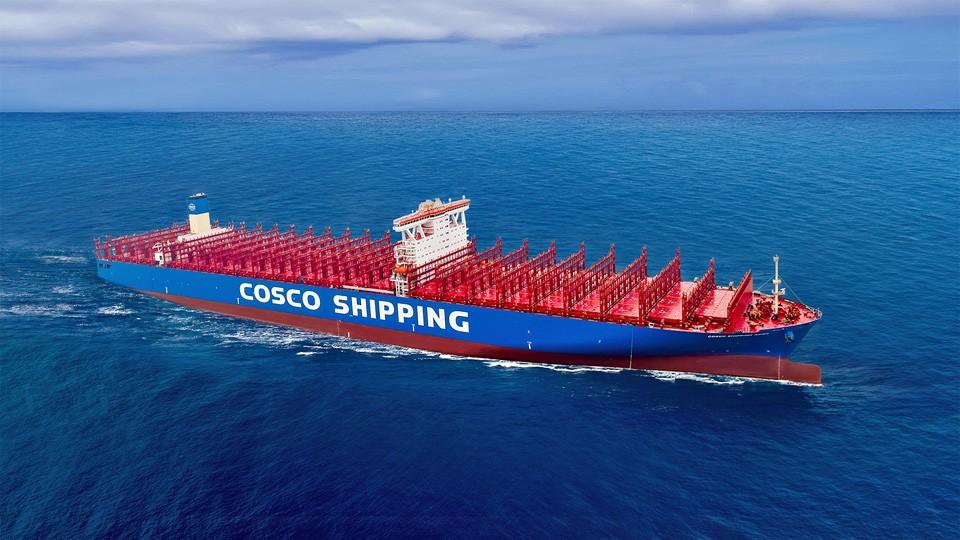 Контейнеровозы COSCO по sale-leaseback