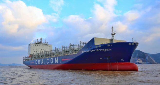 Новый контейнеровоз CMA CGM