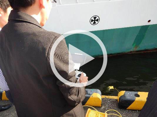 MOL протестировал подводный аппарат – видео