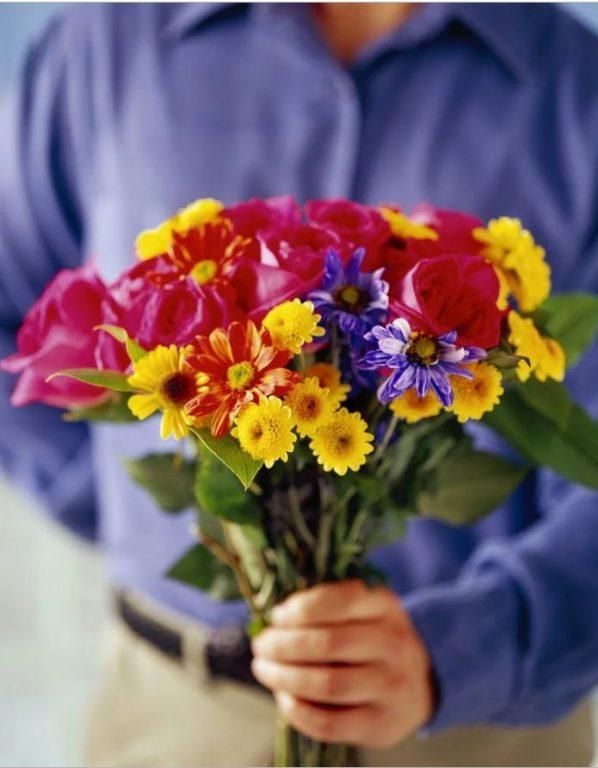 Цветы от таможни