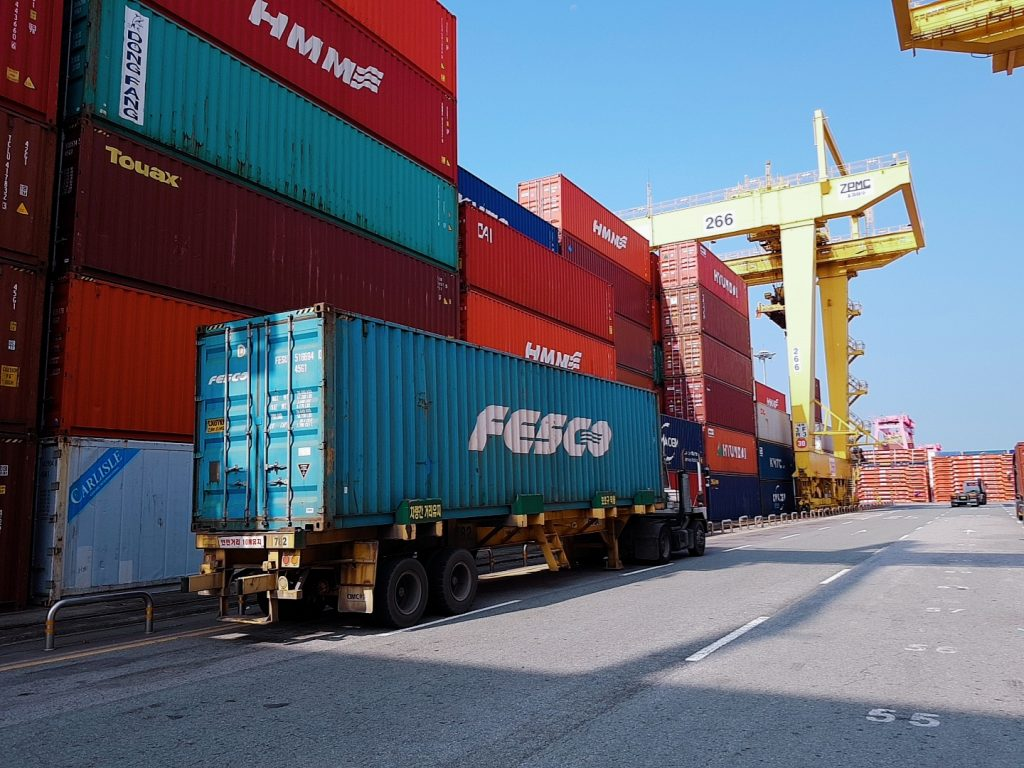 Joint Service of FESCO and RZD Logistics from Korea to