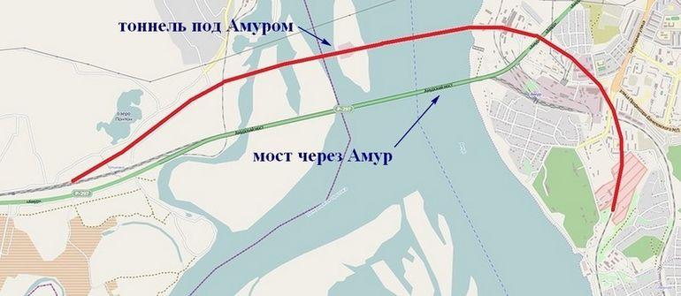 Единственный в России подводный железнодорожный тоннель