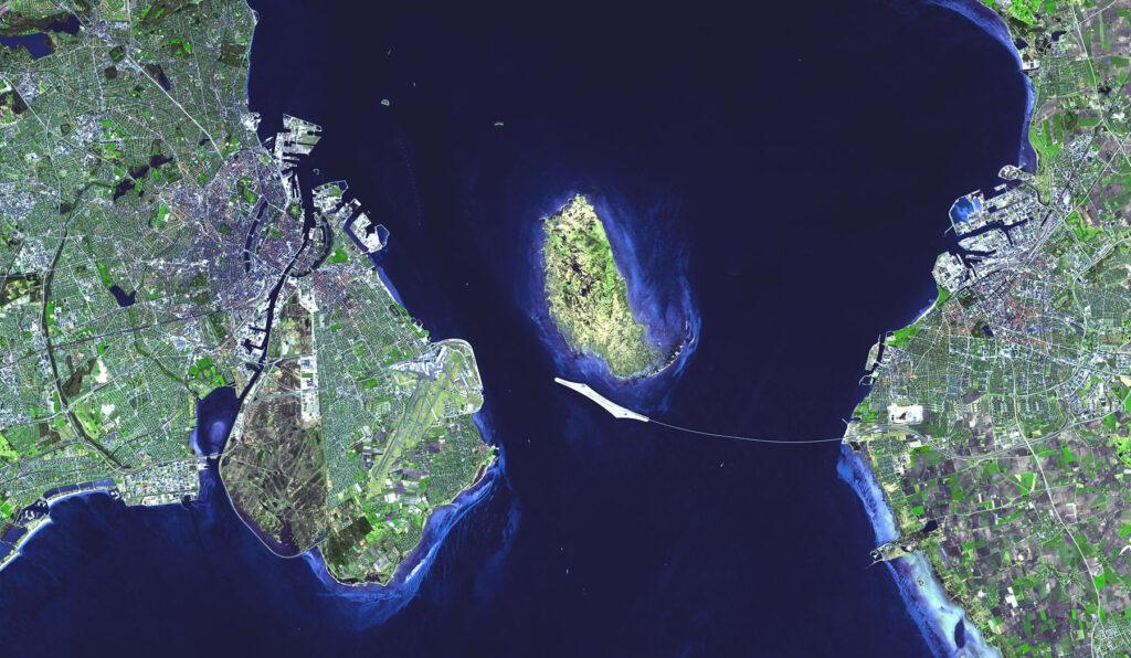 «Ныряющий» мост-тоннель между Данией и Швецией