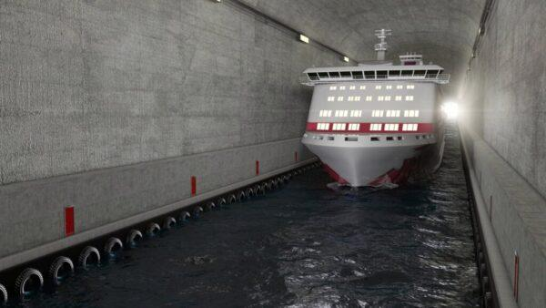 The world's first marine tunnel for ships